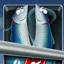 Tales from my fridge. Um projeto de Design de personagens e Ilustração de Roselino López Ruiz - 09.06.2020