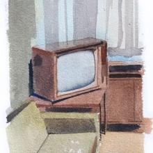 Everyday life watercolors. A Skizzenentwurf und Aquarellmalerei project by João Paulo de Carvalho - 09.06.2020