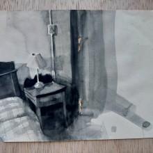 B&W Watercolor Spaces. Un proyecto de Pintura y Pintura a la acuarela de João Paulo de Carvalho - 09.06.2020