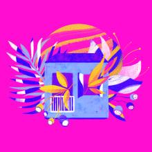 mundo floral. Un progetto di Illustrazione, Illustrazione botanica e Illustrazione digitale di juliana takeuchi - 09.06.2020