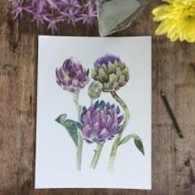 Mi Proyecto del curso: Ilustración botánica con acuarela. Um projeto de Ilustração, Design de produtos, Pintura em aquarela e Ilustração botânica de Marisol Ormanns - 15.05.2020