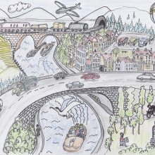 My project in The Art of Sketching: Transform Your Doodles into Art course. Un progetto di Disegno artistico di koutna.marianna - 11.06.2020