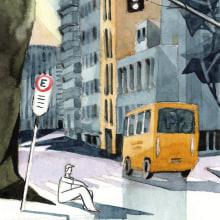 Ilustração em aquarela. Un progetto di Disegno e Illustrazione di Raro de Oliveira - 12.06.2020