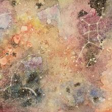 Galaxia. Un proyecto de Pintura a la acuarela de Maria Antonieta Badilla - 13.06.2020