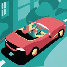"""SABA. Campaña """"VAYAS DONDE VAYAS, VAMOS CONTIGO"""" . Un proyecto de Ilustración, Animación y Diseño de personajes de Juanma García Escobar - 13.06.2020"""