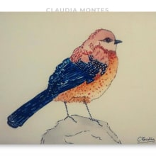 Pájaros. A Fine Art, Collage, Paper Craft, and Concept Art project by Claudia Montes - 06.15.2020