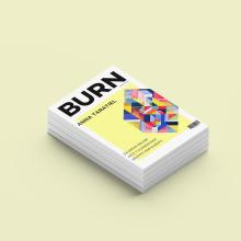 BURN magazine. Un proyecto de Br, ing e Identidad, Diseño editorial, Diseño gráfico y Diseño digital de Cristina Hurtado Calvo - 17.06.2020