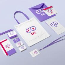 brand identity set. Un proyecto de Br, ing e Identidad, Diseño gráfico y Diseño de logotipos de Cristina Hurtado Calvo - 17.06.2020
