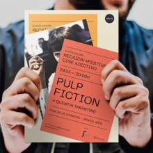 RECAÍDA! FESTIVAL DE CINE ADICTIVO. A Verlagsdesign, Events, Grafikdesign, Kino und Plakatdesign project by Gabriel Sencillo - 23.06.2020