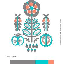 Mi Proyecto del curso: Teoría del color para proyectos textiles. A Drawing project by Cynthia Gil Benites - 02.02.2020