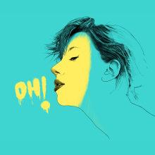 OH!. Un proyecto de Ilustración de retrato e Ilustración digital de Pako Martinez - 30.06.2020