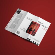 FLYER MOMA. Un proyecto de Diseño editorial, Diseño gráfico y Diseño tipográfico de Cristina Hurtado Calvo - 30.06.2020
