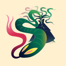 Medusa. Un progetto di Illustrazione, Character Design, Illustrazione vettoriale, Illustrazione digitale , e Arte concettuale di Nathan Jurevicius - 01.07.2020