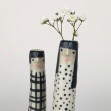 Bud Vases. Un proyecto de Cerámica de Sandra Apperloo - 30.06.2020