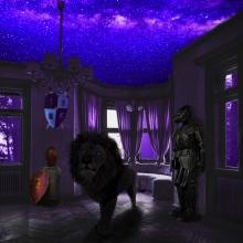 Cuarto con el techo de estrellas. Un proyecto de Diseño digital de Daniel Vargas - 05.07.2020