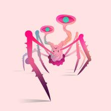 The Thing. Un progetto di Illustrazione, Cinema, video e TV, Character Design, Illustrazione vettoriale e Illustrazione digitale di Nathan Jurevicius - 05.07.2020