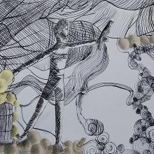 Meu projeto do curso: Experimentação gráfica para histórias ilustradas. Un proyecto de Ilustración y Bellas Artes de Tiago Bueno - 06.07.2020