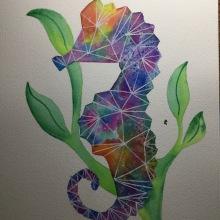 Mi Proyecto del curso: Técnicas modernas de acuarela. A Artistic drawing project by Luisa Fernanda Ruiz - 07.06.2020