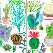 Mi Proyecto del curso: Técnicas de ilustración para desbloquear tu creatividad. A Illustration project by Juliana de Cássia Ribeiro - 06.07.2020