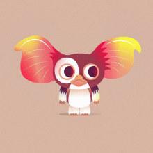 Gremlins. Un progetto di Illustrazione, Cinema, video e TV, Character Design, Illustrazione vettoriale e Illustrazione digitale di Nathan Jurevicius - 07.07.2020