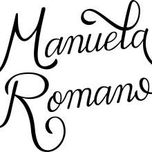 Mi Proyecto del curso: Lettering cursivo para logotipos. Un proyecto de Lettering de manuromanu - 09.07.2020