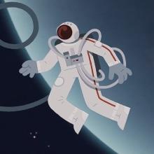 The Space Pen Issue. A Illustration, Kunstleitung, Animation von Figuren und 2-D-Animation project by Caramel - 10.07.2020