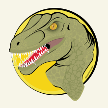 Dino Attack!. Un progetto di Character Design, Illustrazione vettoriale e Illustrazione digitale di federico capón - 11.07.2020