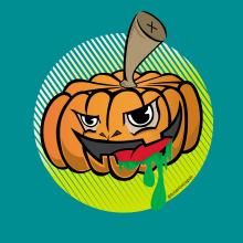 Halloweed. Un progetto di Character Design, Illustrazione vettoriale e Illustrazione digitale di federico capón - 11.07.2020