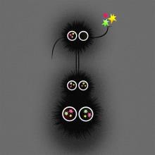 Soot Sprites. Un progetto di Illustrazione, Character Design, Illustrazione vettoriale e Illustrazione digitale di Nathan Jurevicius - 13.07.2020