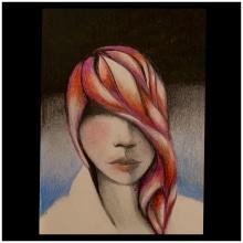 My project in Chiaroscuro Creative Portrait with Pencils course. Un progetto di Disegno di mail4makeup - 20.07.2020