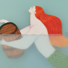 Over the sea to Skye. A Illustration, and Fine Art project by Sonia Alins Miguel - 03.27.2020