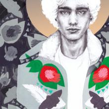 Portrait with Naranjadad. Un projet de Illustration, Collage, Illustration numérique, Dessin artistique , et Dessin anatomique de Bonnie Hay - 02.05.2020