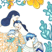 Ser madre soltera y optimista. A Illustration project by Sonia Alins Miguel - 04.27.2020