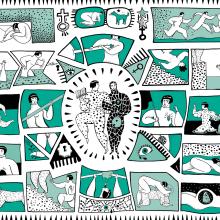 Museo Media Vaca. A Illustration project by Sonia Alins Miguel - 06.27.2019