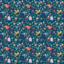 Mi Proyecto del curso: Diseño de patrones ilustrados. Un progetto di Illustrazione, Graphic Design, Collage, Illustrazione vettoriale, Illustrazione digitale , e Disegno digitale di marina bellofiore - 22.07.2020