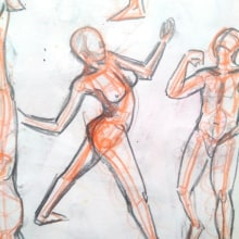 Mi Proyecto del curso: Dibujo anatómico para principiantes. Um projeto de Desenho anatômico de Minne Cámara - 23.07.2020