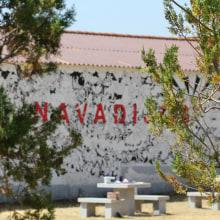 Mural en Navadijos. Sierra de Gredos.. Un proyecto de Arte urbano de Óscar Lloréns - 24.07.2020