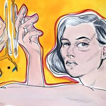 Mi Proyecto del curso: Gimnasio de ilustración: encuentra tu estilo. Un proyecto de Ilustración de Raquel Labrador - 24.07.2020
