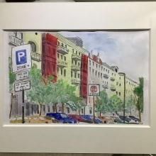 Meu projeto do curso: Desenho arquitetônico com aquarela e tinta Berlim. A Watercolor Painting project by Wladimir Leichsenring - 07.25.2020