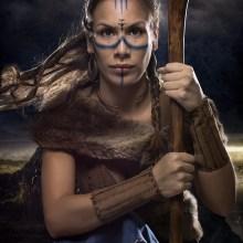 Warrior . Un proyecto de Fotografía, Retoque fotográfico, Fotografía de retrato, Iluminación fotográfica, Fotografía de estudio, Fotografía digital y Fotografía artística de Alexandra Martín García | ArtDrómeda - 13.11.2019