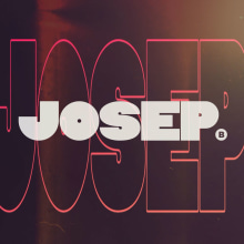 New LOGO - JOSEP. A Motion Graphics, T, pograph, and Logo Design project by Josep Bernaus - 07.27.2020