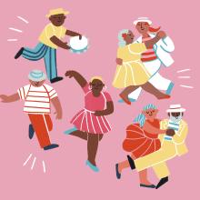 Dança- Sorria 73. A Illustration, and Digital illustration project by Giovana Medeiros - 07.27.2020