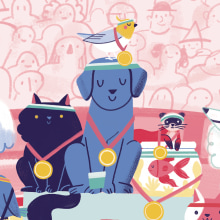 Ache o Bicho 2. A Illustration, Digital illustration, and Children's Illustration project by Giovana Medeiros - 07.27.2020