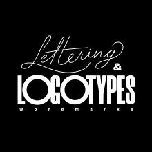 Lettering & Logotipos - Colección N°1. A Br, ing und Identität, T, pografie, Lettering, Logodesign und Digitales Lettering project by Simón Londoño Sierra - 28.07.2020