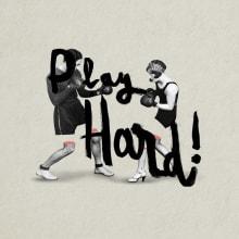 Collages 02/ Play Hard. Um projeto de Design, Direção de arte, Colagem e Design digital de Trini García - 29.07.2020