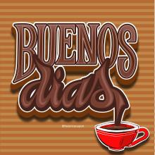 Buenos Días!. Un progetto di Lettering , e Lettering digitale di federico capón - 29.07.2020
