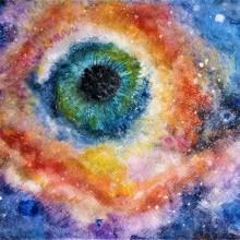 "Nebulosa ""El ojo de Dios"". A Illustration project by Pili Avendaño - 07.29.2020"