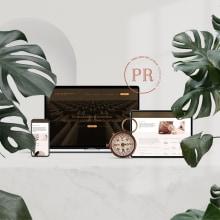 Web Prellezo de la Riva. Um projeto de UI / UX, Design gráfico e Web design de Artídoto Estudio - 30.07.2020