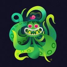 Scarygirl and Blister. Un progetto di Illustrazione, Character Design, Fumetto, Illustrazione vettoriale, Creatività e Illustrazione digitale di Nathan Jurevicius - 30.07.2020