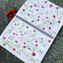Summer!. A Textile illustration, Fiber Arts, and Sketchbook project by Jazmín Angelica Cárdenas Avila - 08.03.2020